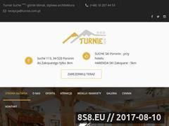 Miniaturka turnie.com.pl (Obiekt hotelarski)