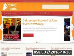 Miniaturka domeny www.tutaj-tanio.pl