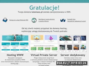 Zrzut strony Witamy na TuToMasz.pl!Ogłoszenia!