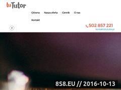 Miniaturka TuTutor - skuteczne korepetycje (tututor.pl)
