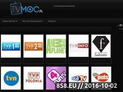 Miniaturka tvmoc.pl (Telewizja internetowa)