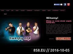 Miniaturka domeny www.twentyone.com.pl