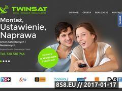 Miniaturka domeny www.twinsat.pl