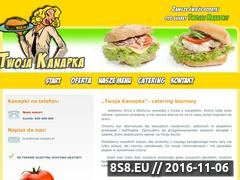Miniaturka domeny www.twoja-kanapka.pl