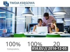 Miniaturka domeny www.twojaksiegowa.olsztyn.pl