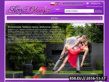Zrzut strony Bielizna damska - Sklep internetowy - Twojaobsesja.pl