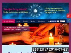Miniaturka twojaprzyszlosc.com.pl (Twoja Przyszłość - bogactwo i szczęście - wróżba)