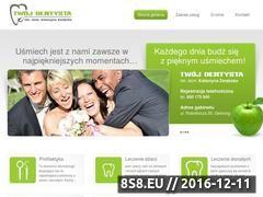 Miniaturka domeny www.twojdentysta-ostrorog.pl