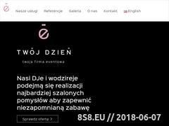 Miniaturka twojdzien.com (DJ wodzirej do wynajęcia)