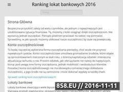 Miniaturka domeny www.twoje-oszczedzanie.pl