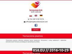 Miniaturka domeny www.twojebiurotlumaczen.com