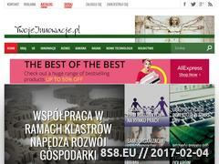 Miniaturka domeny www.twojeinnowacje.pl