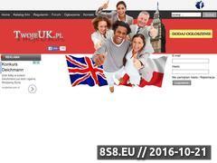 Miniaturka twojeuk.pl (Informacje dla Polonii w UK)