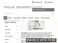 Miniaturka domeny twojezegarki.com.pl