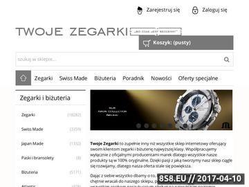 Zrzut strony Zegarki męskie, zegarki damskie i biżuteria