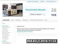 Miniaturka domeny twojlekarz.info.pl