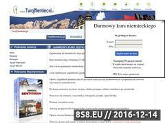 Miniaturka domeny www.twojniemiecki.pl