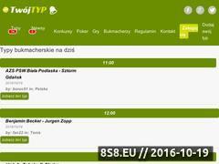 Miniaturka twojtyp.pl (Analizy bukmacherskie)