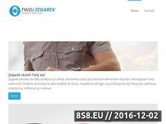 Miniaturka domeny www.twojzegarek.pl