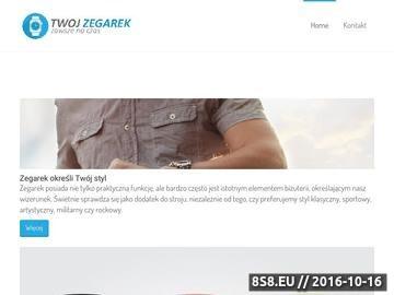 Zrzut strony Zegarki