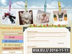 Miniaturka domeny www.tworczezabawy.pl