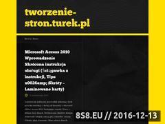 Miniaturka domeny www.tworzenie-stron.turek.pl