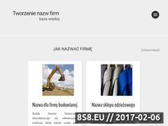 Miniaturka domeny tworzenienazw.pl