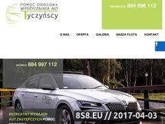 Miniaturka tyczynscy.com (Wynajem aut osobowych)