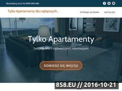 Miniaturka domeny tylkoapartamenty.pl
