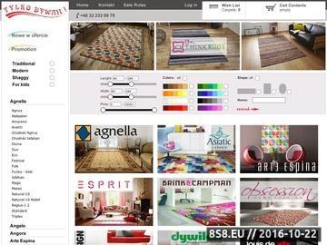 Zrzut strony Tylkodywan.Pl - Największy sklep internetowy z dywanami