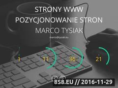 Miniaturka domeny www.tysiak.eu