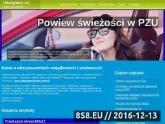 Miniaturka domeny ubezpiecz.info.pl