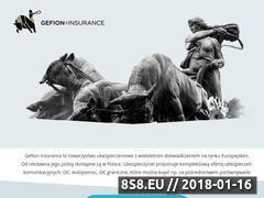 Miniaturka ubezpieczenia-gefion.pl (Opinie o Gefion)