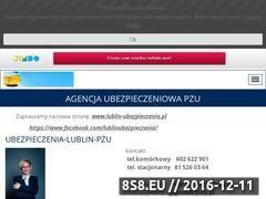Miniaturka domeny ubezpieczenia-lublin.jimdo.com