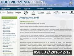 Miniaturka domeny ubezpieczenia-magro.pl