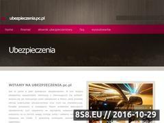 Miniaturka ubezpieczenia.pc.pl (Portal wiedzy o ubezpieczeniach)
