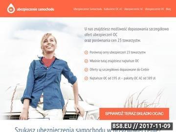 Zrzut strony Ubezpieczenie Samochodu - ubezpieczenie-samochodu.net.pl