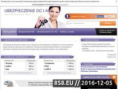 Miniaturka domeny www.ubezpieczenieocac.com.pl