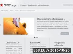 Miniaturka domeny ubezpieczskutecznie.pl