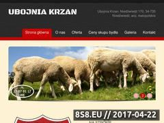 Miniaturka domeny www.ubojniakrzan.pl