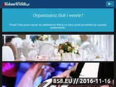 Miniaturka domeny www.udanewesele.pl