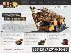 Miniaturka domeny www.udzwigniemy.pl