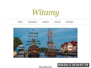 Zrzut strony Darłówko noclegi blisko morza, u Gerarda i Danuty