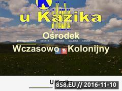 Miniaturka domeny www.ukazika-orawka.pl