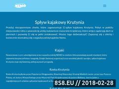 Miniaturka ukta.pl (Spływy kajakowe oraz wypożyczalnia kajaków)