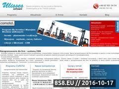 Miniaturka domeny www.ulisses.pl