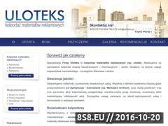 Miniaturka domeny www.uloteks.pl