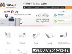 Miniaturka domeny www.ulotki.pl