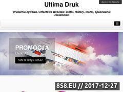 Miniaturka domeny ultimadruk.pl