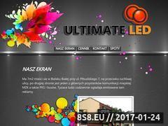 Miniaturka domeny www.ultimateled.pl